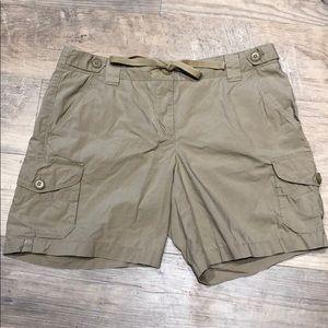 J.Crew Tan Cargo Shorts